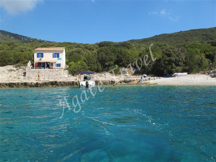 Casa sul mare isola losinj agave travel for Disegni moderni della casa sulla spiaggia